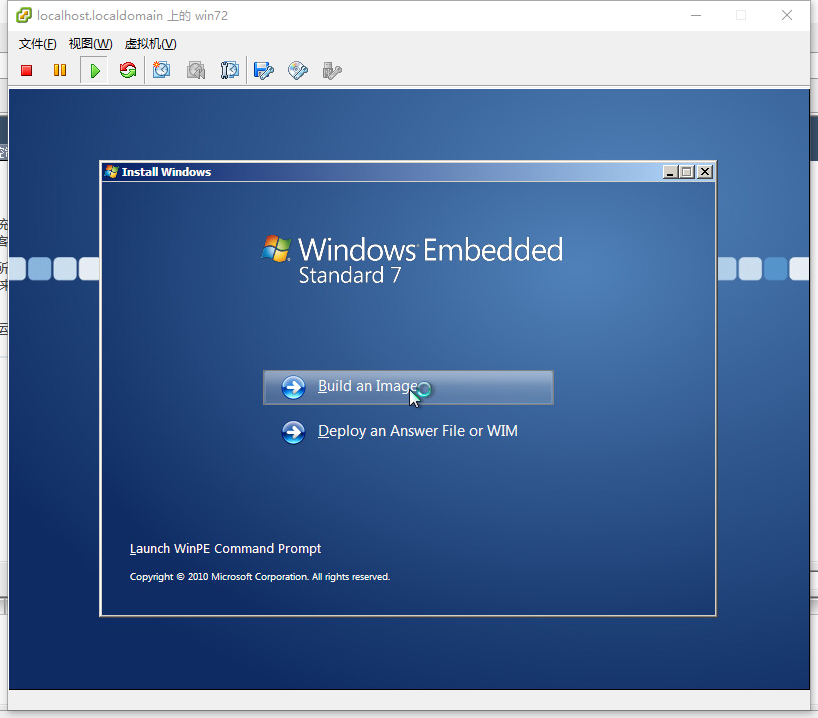 安装windows7 embedded