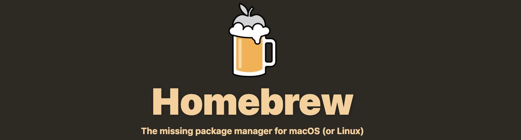 mac修改brew源